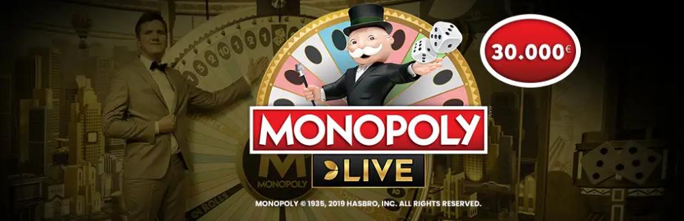 Canlı Casino Oyununa 30.000 Euro Nakit Ödül
